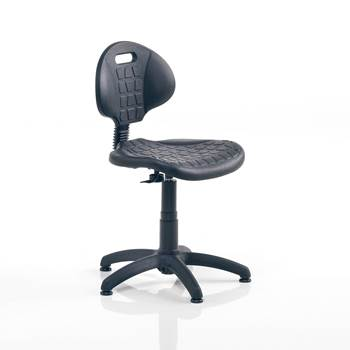 Classic factory chair, no foot ring, H 420-540 mm