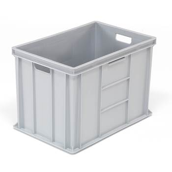 Plastback Euro, 80 liter, 600x400x410 mm, grå