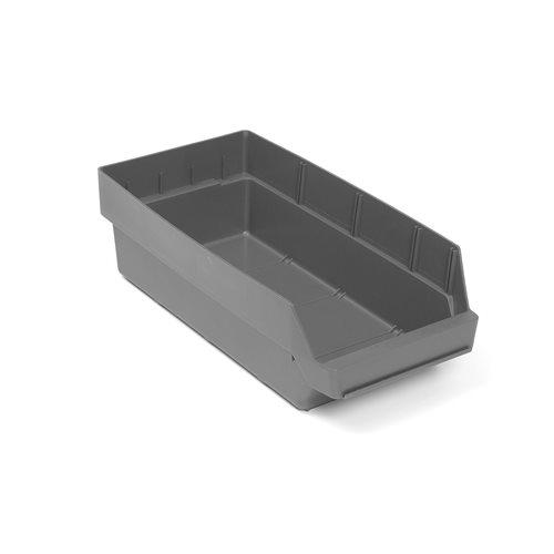 Pientavaralaatikko, 500x240x150 mm, kierrätysmuovia, harmaa