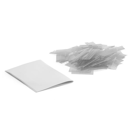 Label holders with labels: 100 pcs