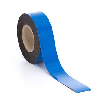 Magnetic tape, 50 mm, blue