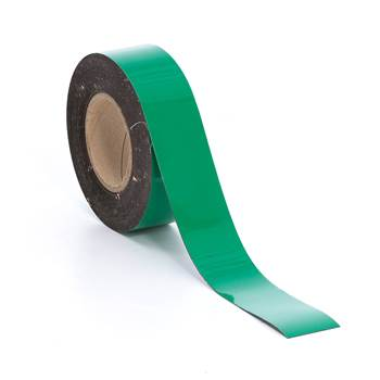 Magnetteip, 50 mm, grønn