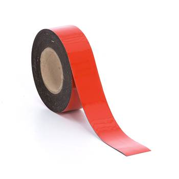 Magnetic tape, 50 mm, red