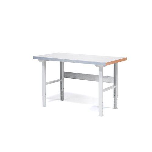 Stół warsztatowy o długości 1500 mm, Stal