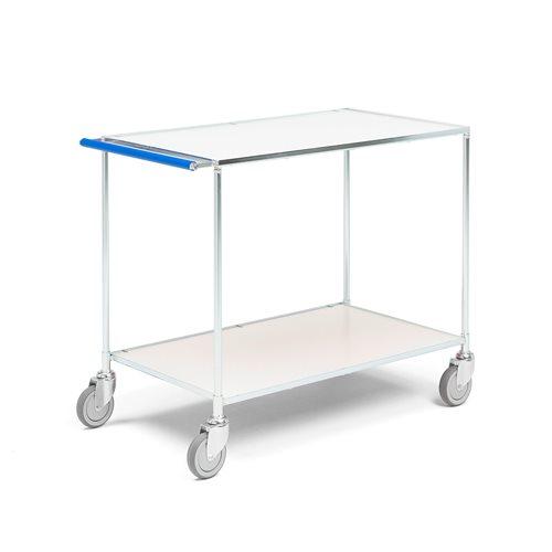 Biały wózek stołowy