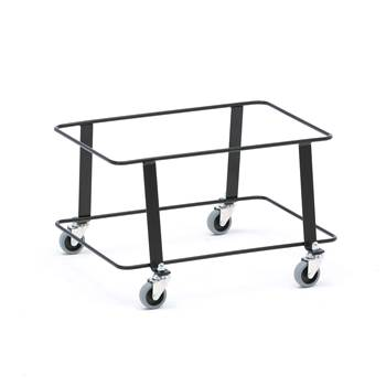 Trolley for shopping baskets, 445x305x285 mm