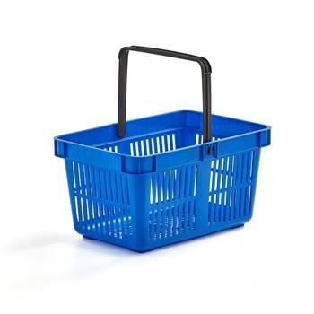 Handlekurv, 26 liter, blå