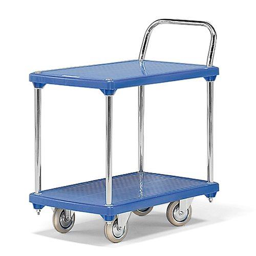 Wytrzymały wózek półkowy, ładowność 200 kg, 810x500x890 mm