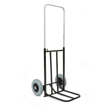 Sekketralle med Punkteringsfrie Hjul, Sammenleggbar