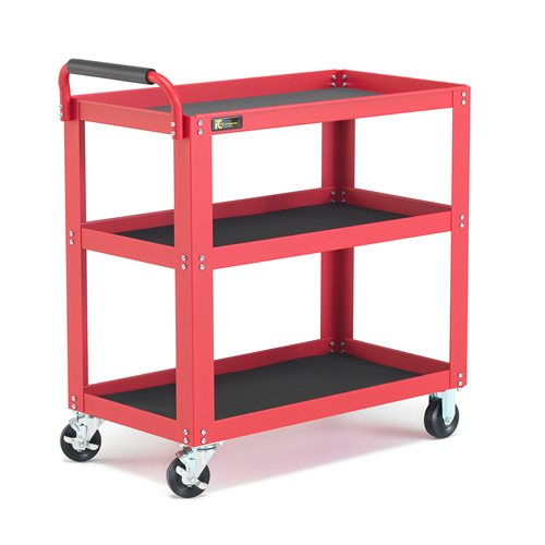 Shelf Trolley 3 Shelves 350kg Aj Products