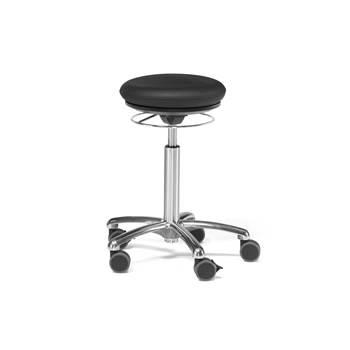 Stolička pilates BRISTOL/ čierna koženka