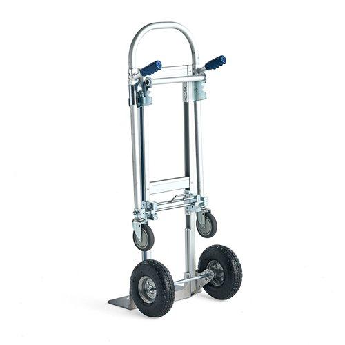 Magasinkärra + vagn, 250 kg, aluminium AJ produkter