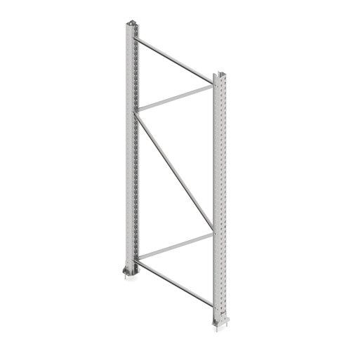 #en End frame palletracking Ultimate, 2500x1100 mm, P80-1,5