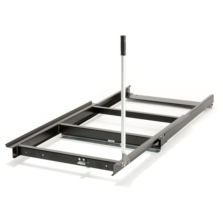Pull-out pallet cradle: floor model: 700kg