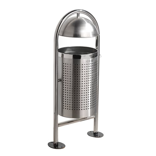 Modern outdoor waste bin