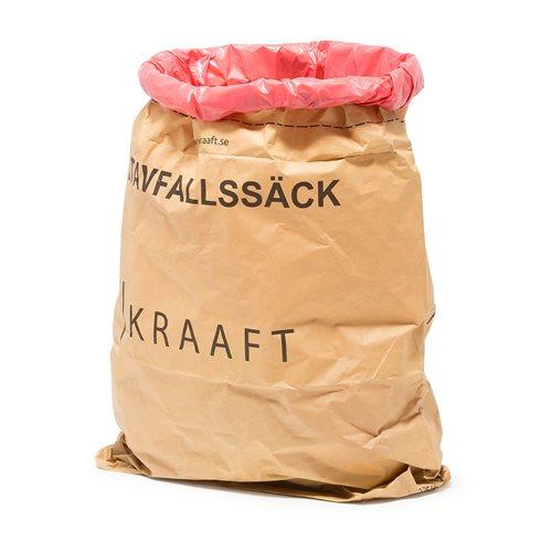 Refuse sack for wet waste