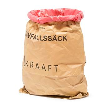 Refuse sack for wet waste, 25-pack, 125 L