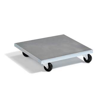 Galvanised dolly, 200 kg load, 500x500 mm