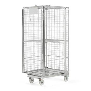 Nesting roll cage, 400 kg load, 825x720x1715 mm