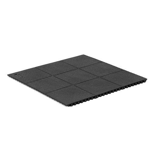 Modular matting for workshop floors
