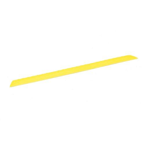 Reunalista, uros, 910x60 mm, keltainen
