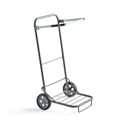Multi-purpose refuse sack trolley