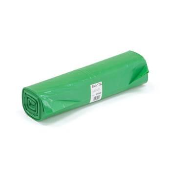 Zielony worek na odpady, Pojemność:125 l