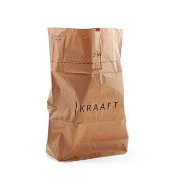 Reinforced paper sack, 50-pack, 160 L