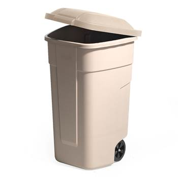Refuse sorting container, 900x510x580 mm, 100 L, grey