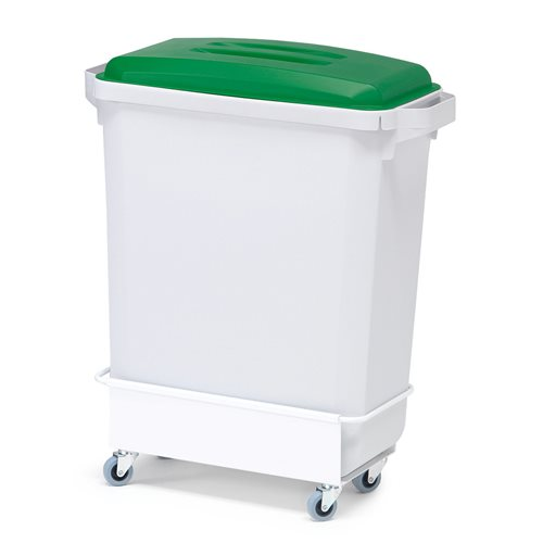 Package deal: 1x60L refuse container+lid+trolley