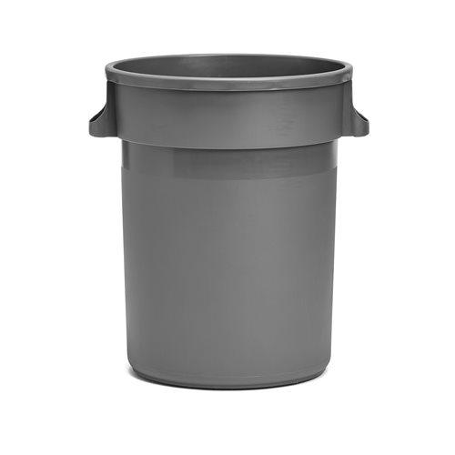 Plastikowy pojemnik na odpady, 120l, szary