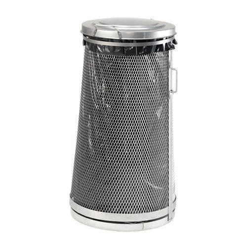 Jätesäkkiteline, 125 litraa, galvanoitu