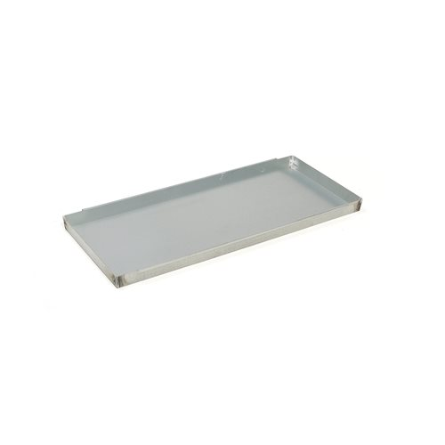Sump tray for the galvanised shelving: 14L