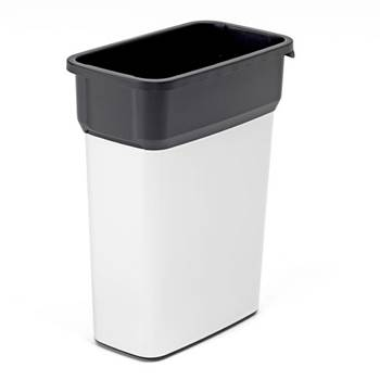 Recycling waste sorting bin