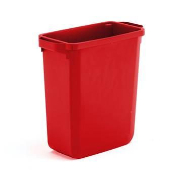 Odpadkový kôš 60l červený