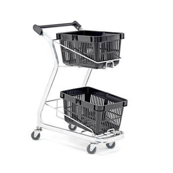 Basket trolley: 60 kg
