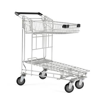 Nesting distribution trolley, 200 kg load, 1010x580x1030 mm