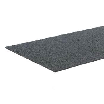 Entrématte, bredde: 1200 mm, PVC, metervare, grå