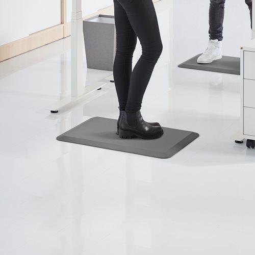 Standing mat, 500x750 mm, grey