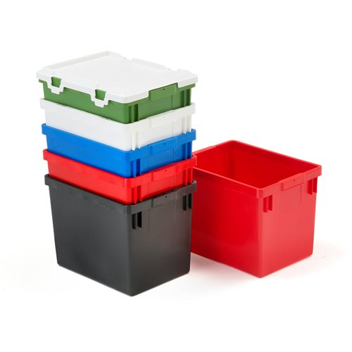 Recycling containers 275x375x265 mm 12 l green aj products - Garden waste containers ...
