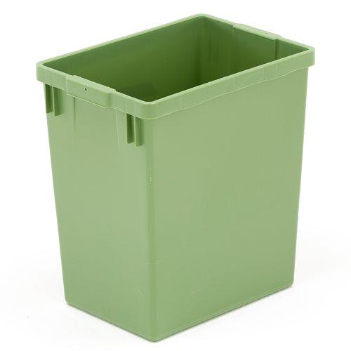 Pojemnik do sortowania odpadów, 29 litrów, zielony