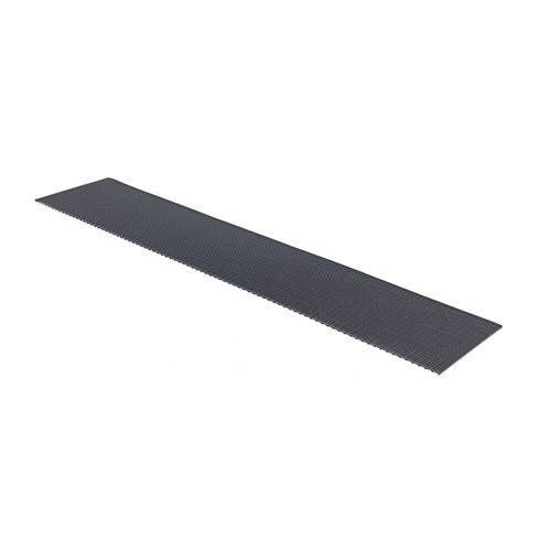 Ritilämatto, leveys: 600 mm, metritavara, musta
