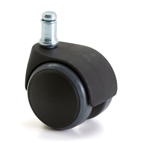 Hjulsats med trögrullande hjul