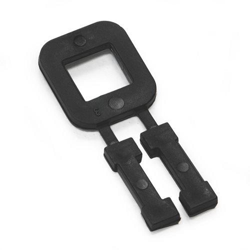 Plastic buckle: max. 13mm band: 1000pcs