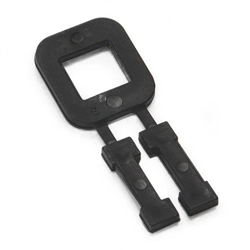 Plastic buckle: max. 16mm band: 1000pcs