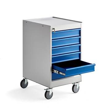 Podwieszane szafki z 6 szufladami, Wysokość:960 mm