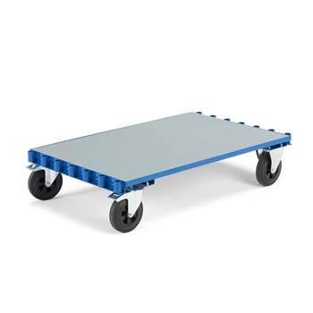 Kolica sa plarformom: 1250 x 800 mm: točkovi sa kočnicom