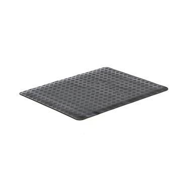 Oil resistant workplace mat, full roll, 1000x1400 mm, black