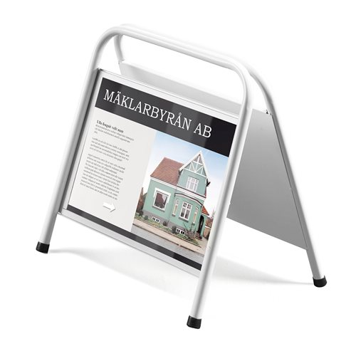 "Plastic cover for Mini ""A"" sign stand: W420xH297mm"