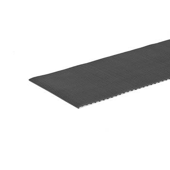 Ekonomi work mat, per metre, W 600 mm, dark grey